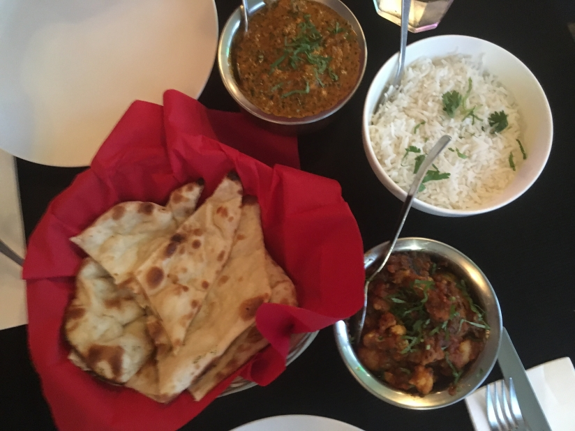Indian food in New Zealand.