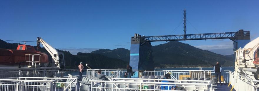 New Zealand ferry ride