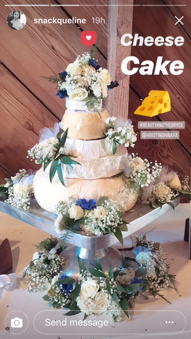 Cheese cake wedding