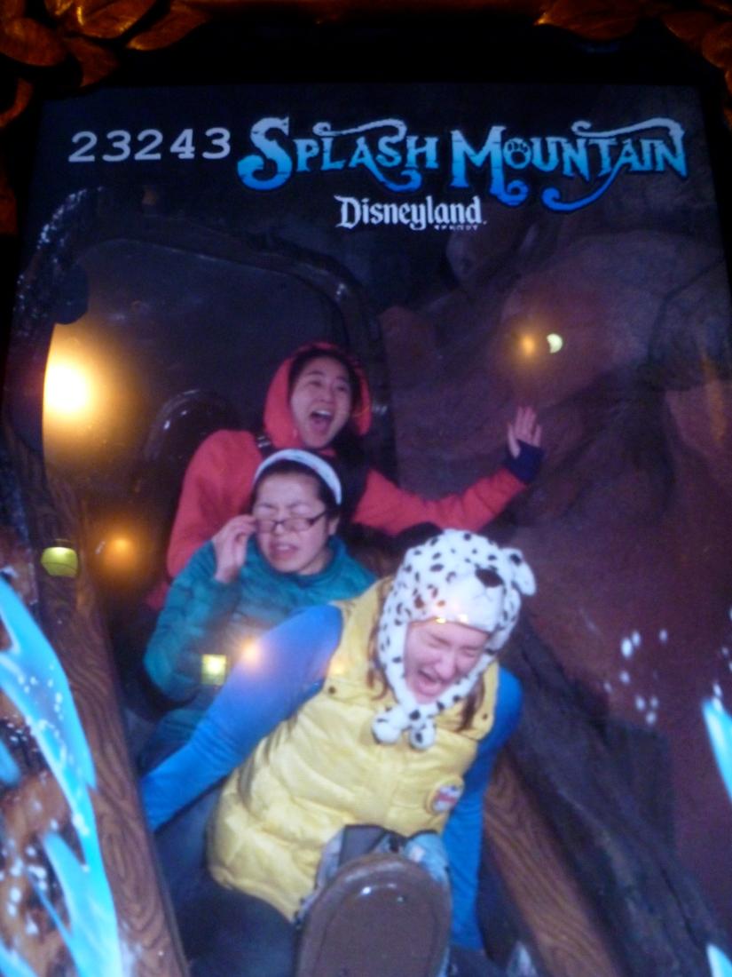 Splash Mountain, Disneyland