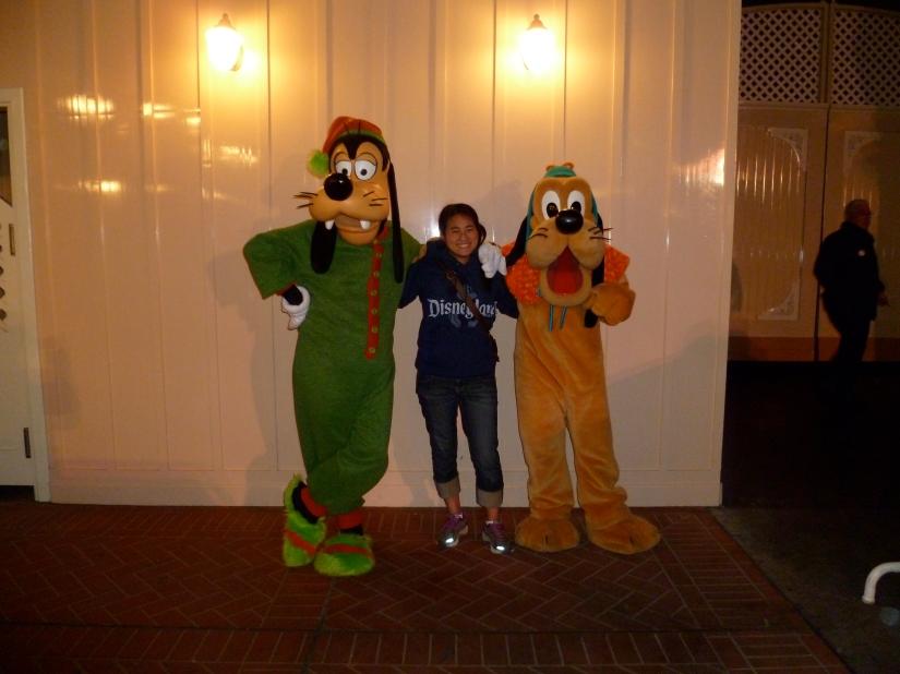 Disneyland, Goofy and Pluto